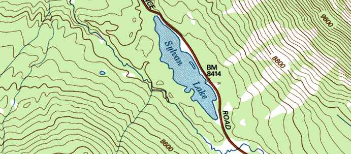 Topo Tips - Topographical map